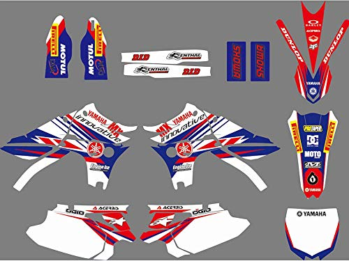 DST0751 3M Customized Motorcross Stickers Motorcycle Decals Graphics Kit for YAMAHA YZ450F 2010 2011 2012 2013