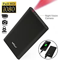 WNAT 1080P HD Spy DVR Hidden Camera 5000mAh Mobile Power Bank Camcorders Mini DV Video Recorder Cam