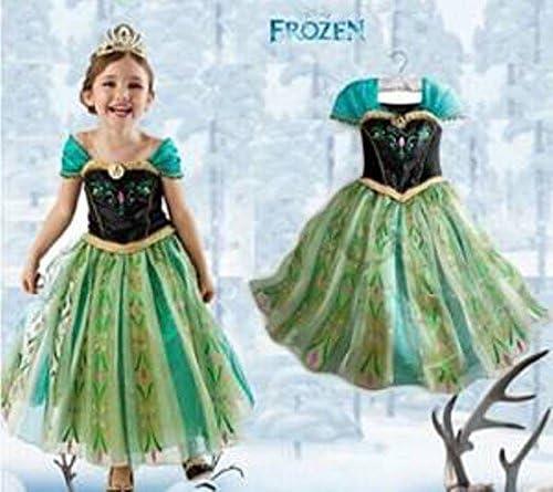 Disfraz de Princesa Anna - Frozen el Reino de Hielo_09: Amazon.es ...