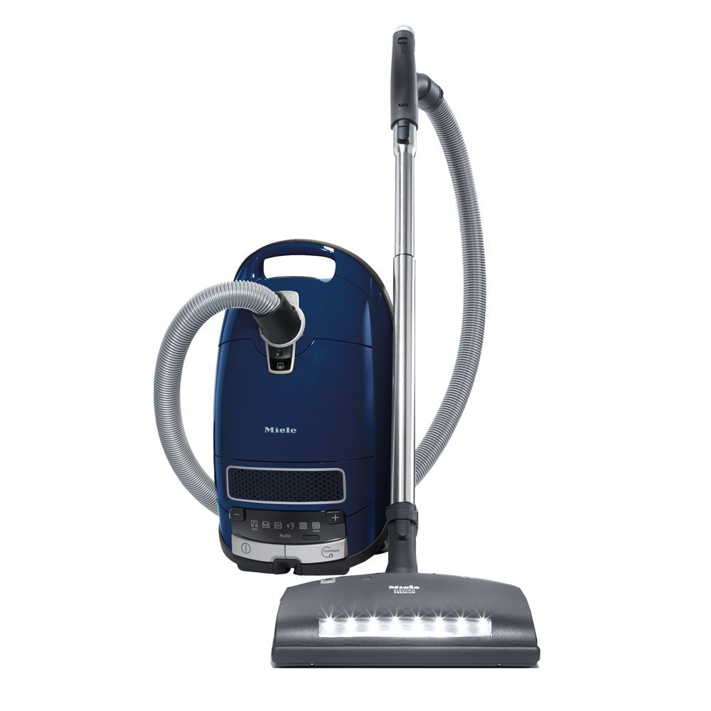 Miele Complete C3 Marin Canister HEPA Canister Vacuum Cleaner with SEB236 Powerhead Bundle - Includes Performance Pack 16 Type GN AirClean Genuine FilterBags + Genuine AH50 HEPA Filter (Renewed)