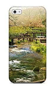 Quality Abikjack Case Cover With Scenery Nice Appearance Compatible With Iphone 5c