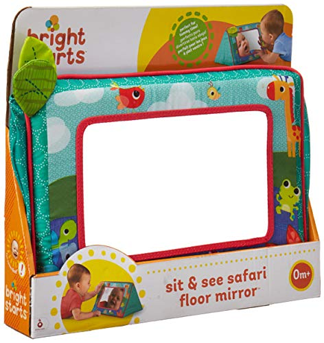 Bright Starts Sit and See Floor Mirror, - Kids Play Mirror