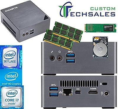 Gigabyte BRIX s Ultra Compact Mini PC (Skylake) BSi7H-6500 i7 120GB SSD, 2TB HDD, 16GB RAM, Assembled and Tested