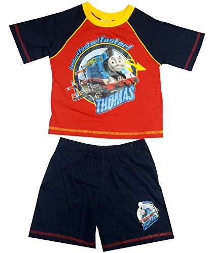 Thomas & Friends Boys Red Shorty Pajama 18-24 (Red Shorty Pajamas)