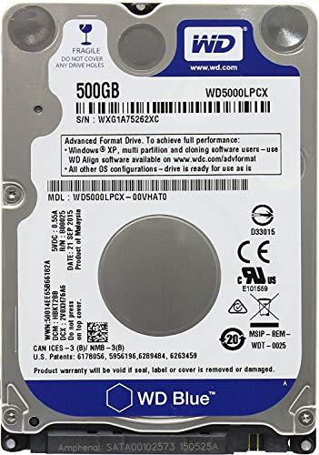 هارد وسترن دیجیتال مدل WD5000LPCX ظرفیت 1 ترابایت