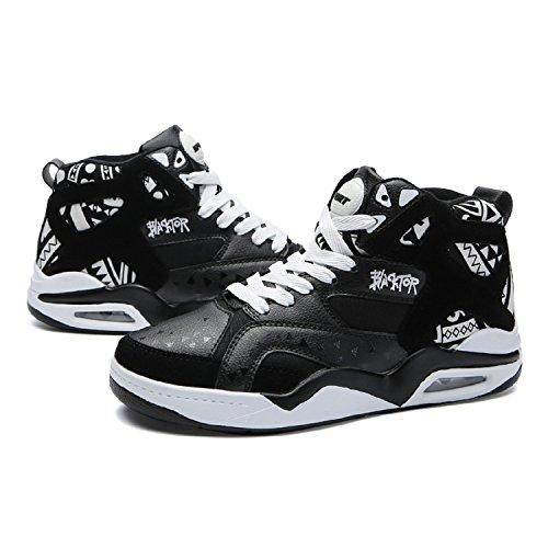 A Uomo Tqgold Nero Collo Alto Sneakers Da Scarpe Ginnastica qCwxvRpg