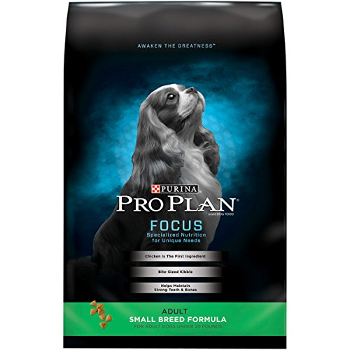 Purina Pro Plan Small Breed Dry Dog Food; FOCUS Small Breed Formula - 34 lb. Bag