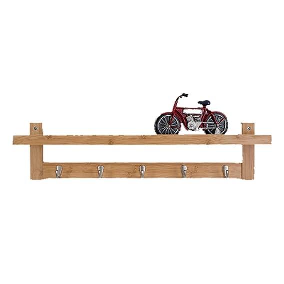 Amazon.com: COAT RACK Wall - Mounted Cloaks, Solid Wood ...