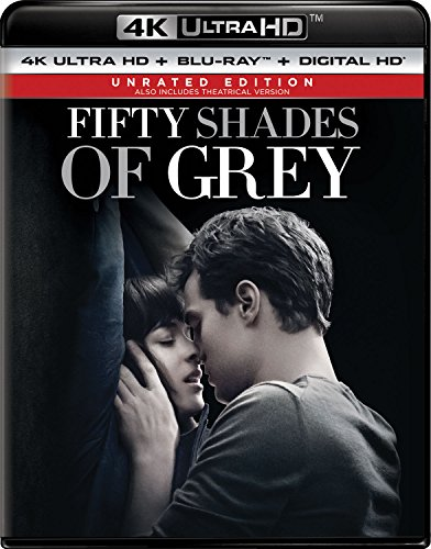 4K Blu-ray : Fifty Shades of Grey (With Blu-Ray, Ultraviolet Digital Copy, 4K Mastering, Unrated Version, Digital Copy)