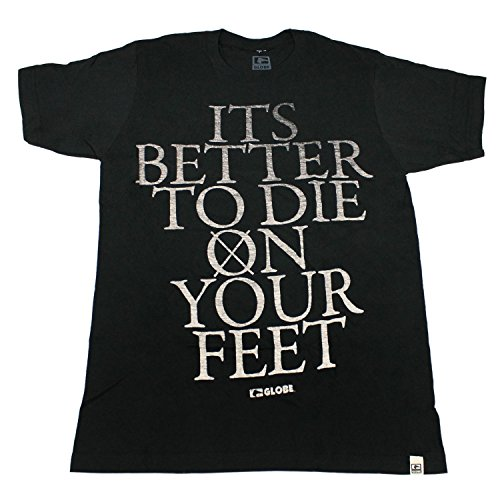 Globe skate Shoes camicia grammatica Slim nero SZ Med