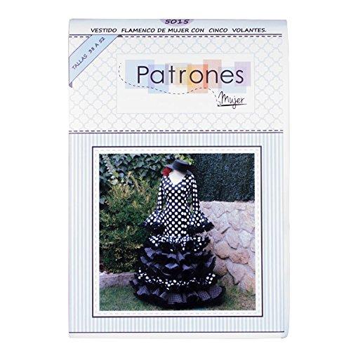 galerias madrid Patrón para Vestido de Flamenca Señora ...