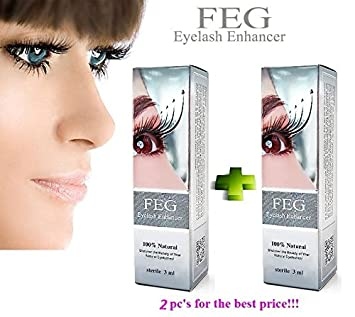 7a08fdfefed Image Unavailable. Image not available for. Color: 2 X FEG Eyelash Enhancer  Growth Liquid/Serum.