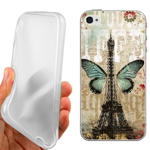 CUSTODIA COVER CASE VINTAGE TOWER PER IPHONE 5C