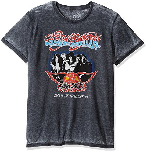 Jack of All Trades Men's Aerosmith Vintage Back in the Sa...