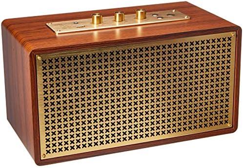 Amazon Basics Bluetooth Lautsprecher Im Vintage Retro Stil Audio Hifi