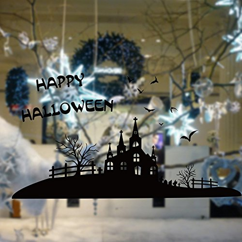 OTTATAT Wall Stickers For Kids 2019,Halloween Background Wall Decoration Removable s Easy to peel Independence Day Sleeping Gift for mother Free Deliver Under 5 dollars all26 designs safety magnets c -