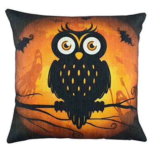 Hot Selling Pillows Cover, Keepfit Halloween Pillow Case Sofa Waist Throw Cushion Cover Home Decor (18