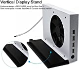 LeSB Xbox One S Vertical Stand Cooling Fan and 4 Ports USB Hub for Xbox One S - Premium Xbox One Accessories