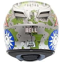 Bell Vortex Unisex-Adult Full Face Street Helmet (Flying Tiger, Large) (D.O.T.-Certified) from Bell