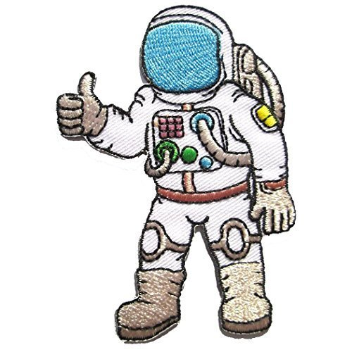 (The Most2 Astronaut - A Journey to Space Iron on Patches - 6Patch)
