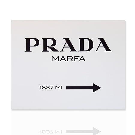 Modern Painting On Canvas Modern Art Prada Marfa Classic Rose Frame