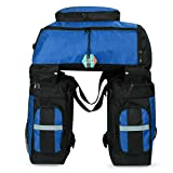 Pellor 70L MTB Bike Waterproof 3 in 1 Rear Bicycle Bag Pannier Bags Bike Rack Bag With Rain Cover