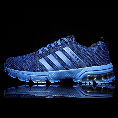 online retailer e34d4 32fba Kuako Men Women Running Shoes Air Trainers Fitness Casual Sports Walk Gym  Jogging Athletic Sneakers