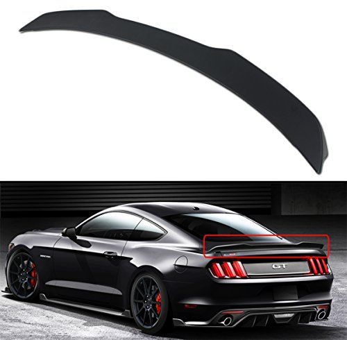 Mustang Trunk Ford Wing (Cuztom Tuning For 2015-17 Ford Mustang S550 H Style Primer Finish ABS Rear Trunk Spoiler Wing)