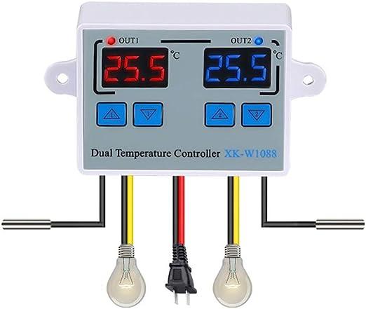 220V NTC Sensor Temperaturregler Thermostat Temperatur temperaturschalter OP-DE