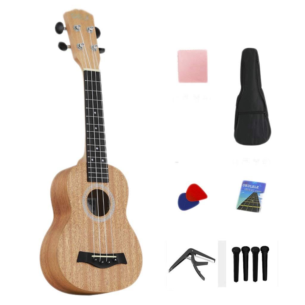21 pulgadas ukulele femenino masculino principiantes introducción ...