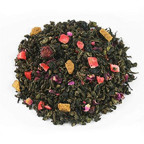 Té azul Oolong Se Chung, fresa, frambuesa, cereza, corintas, galleta, merengue, rosa, aroma.: Amazon.es: Alimentación y bebidas