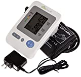 Slight Touch FDA Approved Fully Automatic Upper Arm Blood Pressure Monitor ST-401, with AC Adapter, Batteries and Case Included