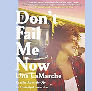 Don't Fail Me Now Audiobook