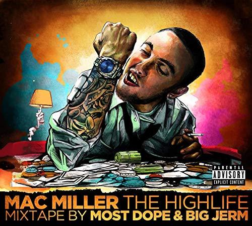 Wiz Khalifa Album Artwork - The Highlife Mixtape Mac Miller Poster 12 x 18 Inch Rolled Target achiver