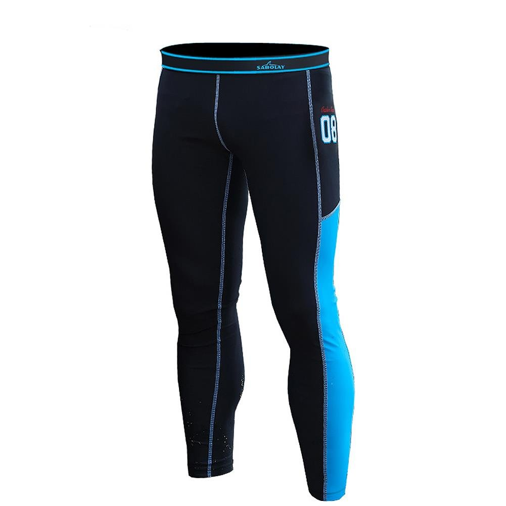 HOTIAN Men Diving Pants Surfing Snorkeling Swimming Pants Rash Guard Tights UPF 50+ by HOTIAN