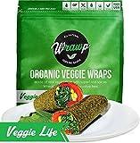 Raw Organic Veggie Lite Wraps | Wheat-Free, Gluten Free, Paleo Wraps, Non-GMO, Vegan Friendly Made in the USA