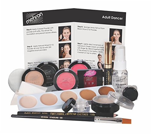 [Mehron- Dancers Makeup Kit] (Holiday Recital Costumes)