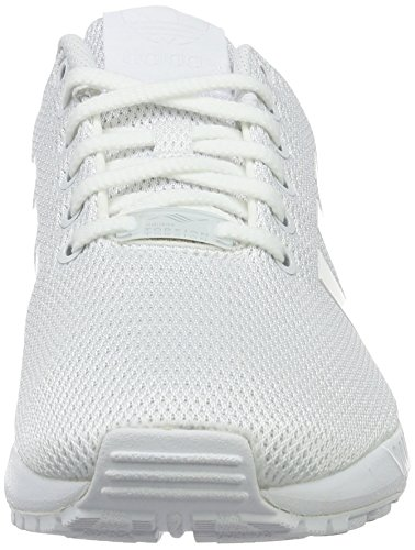 Basses footwear Baskets Mixte White White Zx footwear 0 Grey Flux Adidas Blanc Adulte clear tBETxfwq