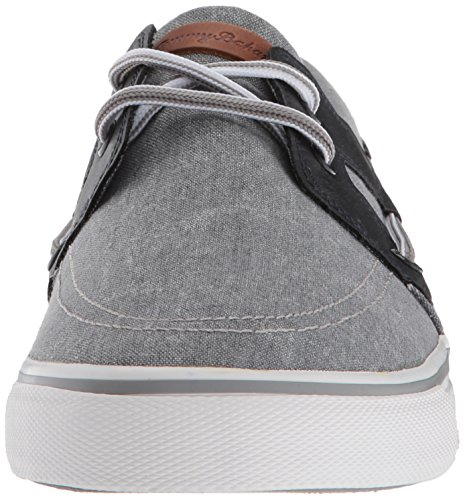 Tommy Bahama Mens Stripe Breaker Boat Shoe Grigio / Nero