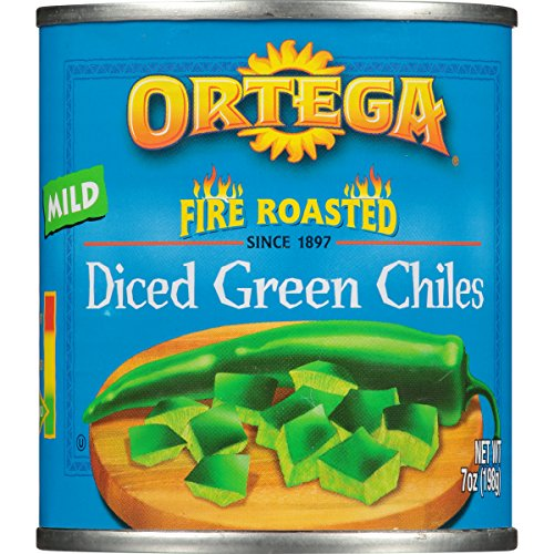 Amazon.com : Ortega Peppers, Diced Green Chiles, Mild, 7 Ounce (Pack of 24) : Canned And Jarred Green Chilis : Grocery & Gourmet Food