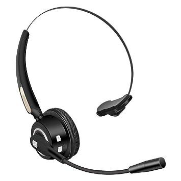 DHHDL Auricular Bluetooth Auriculares Bluetooth con Over-Ear En Micrófono Control De Volumen Auriculares Inalámbricos Livianos: Amazon.es: Deportes y aire ...