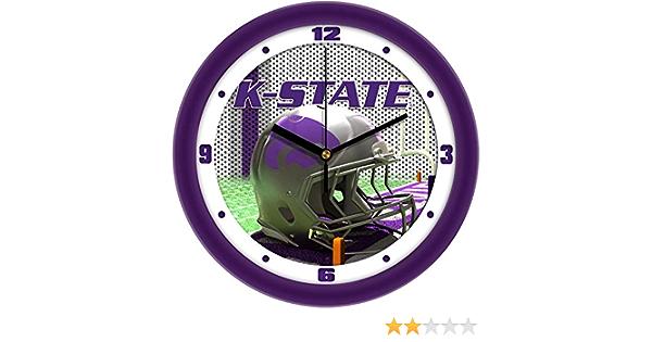 SunTime Kansas Jayhawk Football Helmet Wall Clock