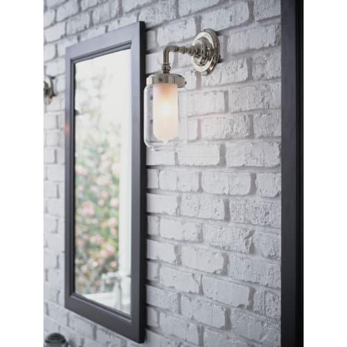 Kohler K-72584 Artifacts Collection Single Light Wall Sconce, Vibrant Brushed Nickel