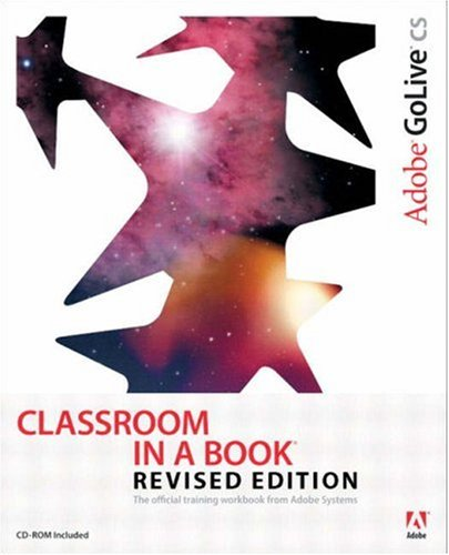 Adobe GoLive CS Classroom in a Book, Revised Edition-cover