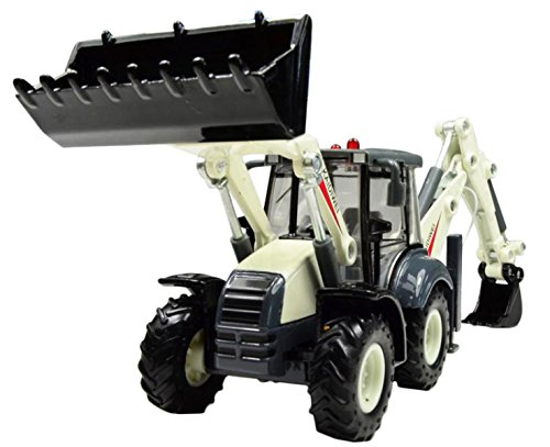 - Happy Cherry Alloy 1:50 Back Hoe Loader Diecast Model Toys