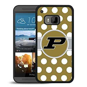 Beautiful Designed Case With Ncaa Big Ten Conference Football Purdue Boilermakers 5 Black For HTC ONE M9 Phone Case