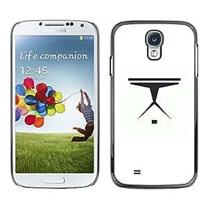 EJOY---Cubierta de la caja de protección la piel dura para el / Samsung Galaxy S4 / --Nave espacial minimalista