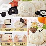 Ainest Panda Shape DIY Craft Mold Bread Cake Sandwich Mold Maker Cutter Mold