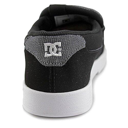 afd4456548da8 DC Shoes Villain Men Round Toe Leather Black Loafer best - ferre-maq ...