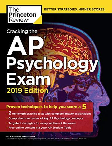 Pdf Teen Cracking the AP Psychology Exam, 2019 Edition: Practice Tests & Proven Techniques to Help You Score a 5 (College Test Preparation)